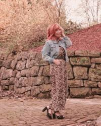 Leopard Jumpsuit & Platform Sandals: Weekly Randomness