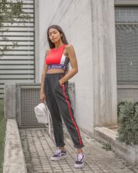 Spring Athleisure outfit - How to style