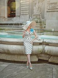 Polka Dot Hourglass || TPDC at the Fountain of Beauty