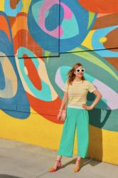 Two Way Tuesday: J. Crew Wide Leg Pants