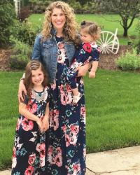 Mommy & Daughters Maxi Dresses