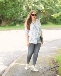 Ethical Floral Print Blouse Outfit