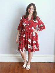 Floral Myosotis Dress