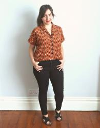 Geometric Libby Shirt