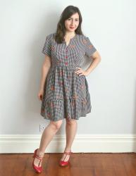 Gingham Myosotis Dress