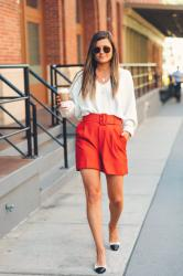 High-Waisted Shorts You Can Wear This Fall