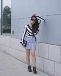 Styling Stripes With Stripes This Fall