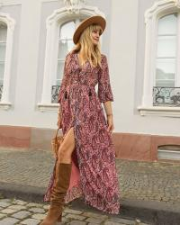 Bohemian chic for fall