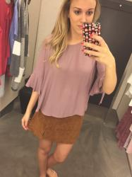 Nordstrom Anniversary Sale: Dressing Room Try-On