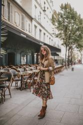 Look d'Automne – Elodie in Paris