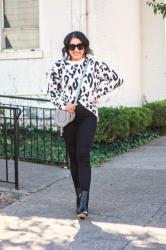 Animal Print For Fall – 2 Ways