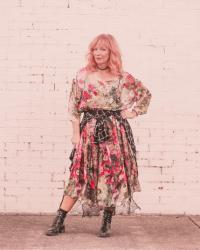 Sheer Floral Dress & Combat Boots: My Experiment With CBD