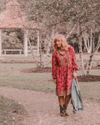 Western Booties & Red Boho Dress: The Importance Of Different