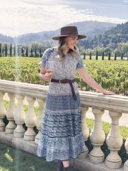 What I Wore Last Week: Sonoma Edition