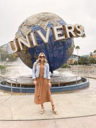 What I Wore Last Week: Universal Studios