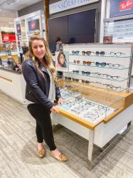 New Glasses with Lenscrafters at Macys