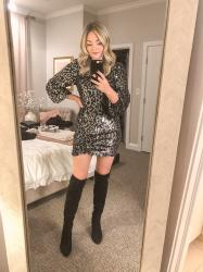 What I Wore Last Week: Christmas + New Year's Eve + Lake Tahoe
