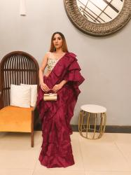 Glam Saree this wedding season