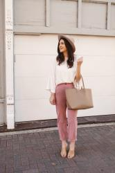 Yes Please: Pink Trousers