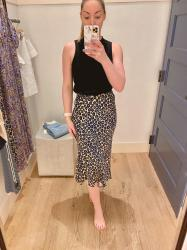 Spring Fitting Room Try-Ons: Anthropologie + H&M