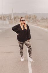 Camo look; with Shein & Sunglass L.A.