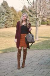 Burgundy & Rust & Confident Twosday Linkup