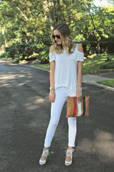 HOW I STYLE WHITE JEANS