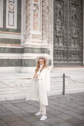 PIAZZA DEL DUOMO - WHITE TOTAL LOOK