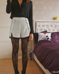 Calzedonia Floral Lace Tights