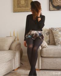 Tesco F&F Luxury Silky Opaque Tights