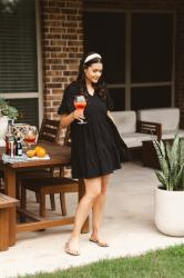 Drinks and a Dress: Aperol Spritz