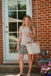 Camo Skirt, Confident Twosday Linkup & BIG ANNOUNCEMENT