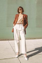in search of: rust blazer