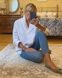 WIW - How To Style An Oversized White Shirt