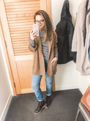 Fall J.Crew/Madewell try-on.