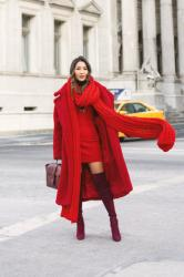 Winter Color Wheel – 6 Outfits in Every Color