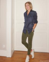 A Spring Necessity + WIW - How To Style Combat Trousers
