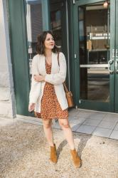 Two Ways To Style A Spring Floral Mini Dress